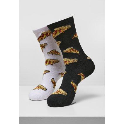 Ponožky MR.TEE Pizza Slices Socks 2-Pack
