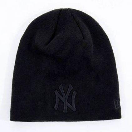 Čiapka NEW ERA MLB Dark Base Skull Knit NY Yankees