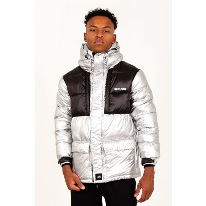 Pánska bunda Sixth June Tactical Down Jacket Black Silver