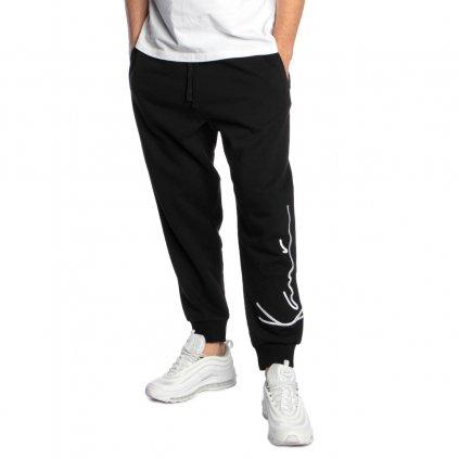 eng pl Karl Kani Signature Sweatpants black 40576 1