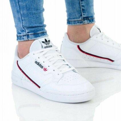 adidas continental 80 junior white 91757