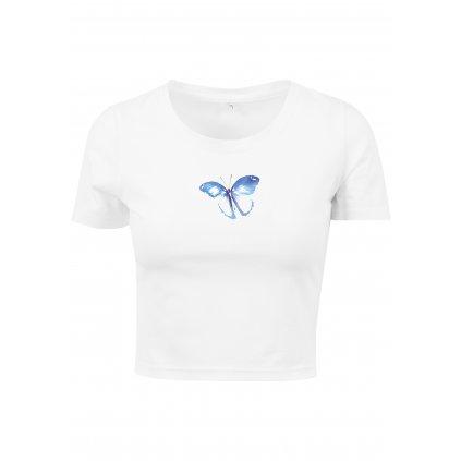 Dámske tričko MR.TEE Ladies Butterfly Cropped