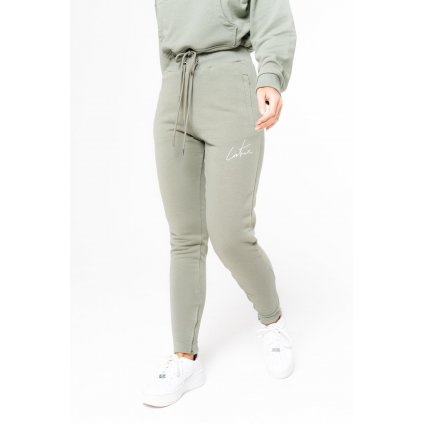 Dámske tepláky THE COUTURE CLUB Couture Essential Joggers grey