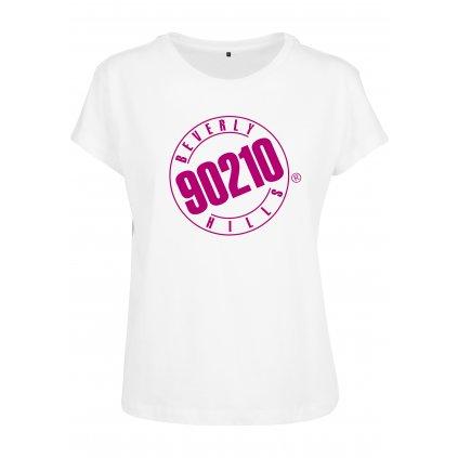 Dámske tričko MERCHCODE 902010 Beverly Hills Box