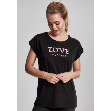 Dámske tričko MR.TEE Ladies Love Yourself Tee