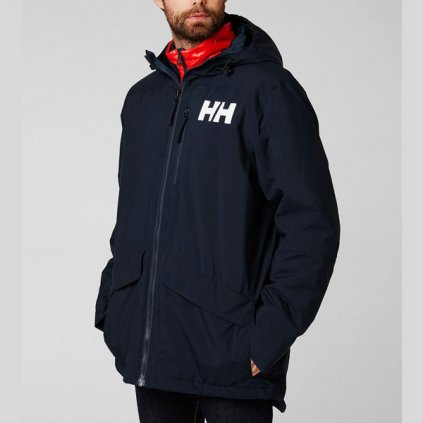 helly hansen active fall 2 parka jacket navy 94336