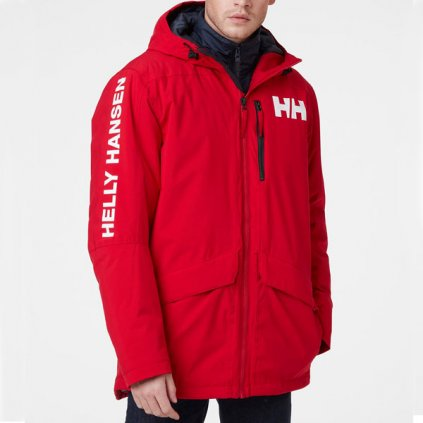 helly hansen active fall 2 parka jacket red 94334