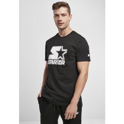 Pánske tričko Starter Contrast Logo Jersey