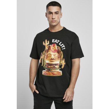 Pánske tričko MR.TEE Eat Lit Oversize