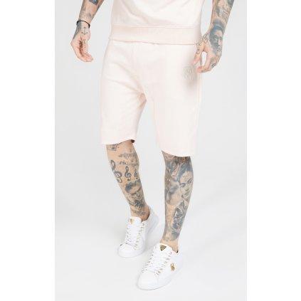 Pánske kraťasy SikSilk Relaxed Shorts pink