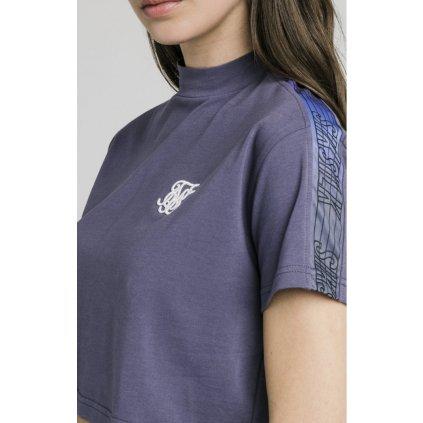 Dámske tričko SikSilk Fade Runner Tape Crop