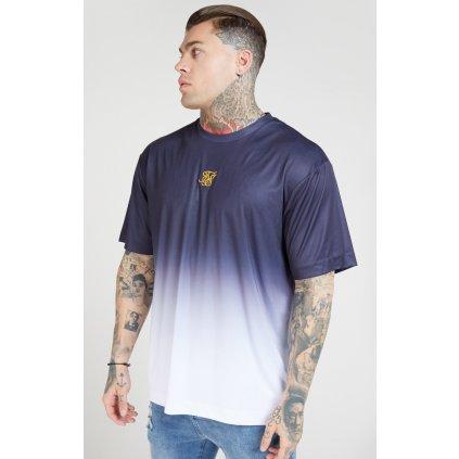 Pánske tričko SikSilk S/S Essential Tee navy