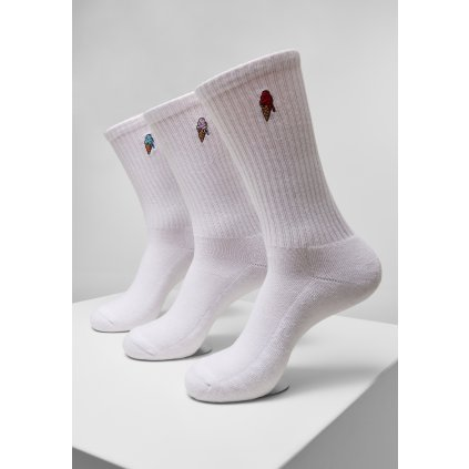 Ponožky MR.TEE Ice Cream Socks 3-Pack