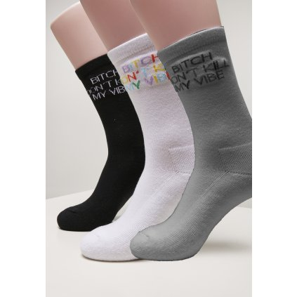 Ponožky MR.TEE Don`t Kill Socks 3-Pack