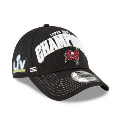 new era tampa bay buccaneers super bowl champions 2021 black 9forty cap 101290