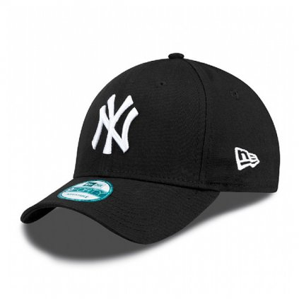 new era 9forty mlb league basic ny yankees black white 28000