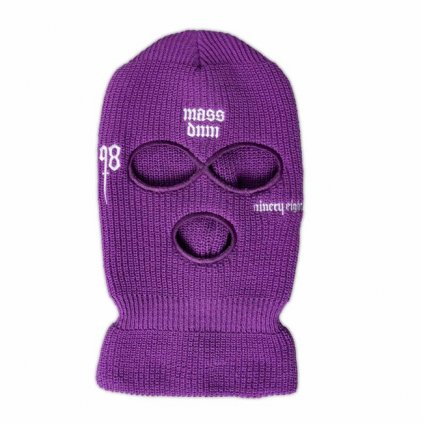 mass denim balaclava snatch purple 101444
