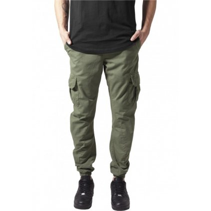 urban classics cargo jogging pants olive 28900