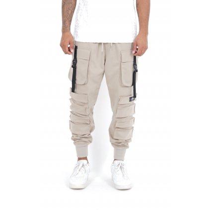 Pánske nohavice SIXTH JUNE Pocket Pants beige