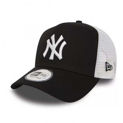 Šiltovka New Era Clean Trucker 2 NY Yankees Black