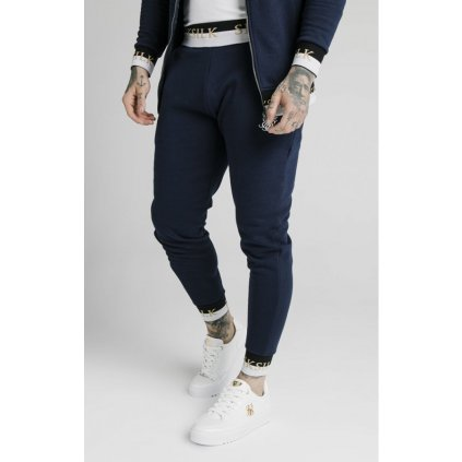 siksilk deluxe fitted jogger navy p5488 54090 medium