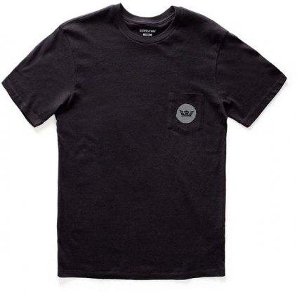 Pánske tričko Supra - Scratch Crown Black