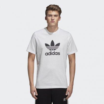 Trefoil T Shirt White CW0710 21 model