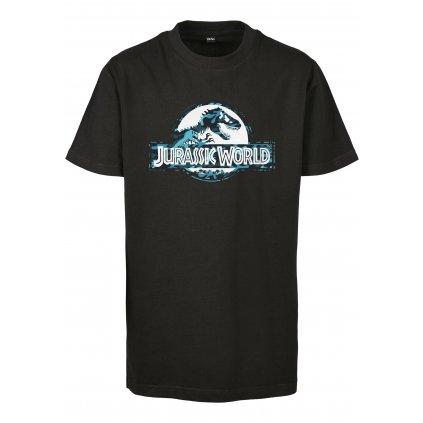 Detské tričko MR.TEE Kids Jurassic World Logo Tee