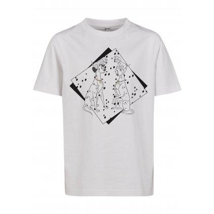 Detské tričko MR.TEE Kids 101 Dalmatiner Couple Tee