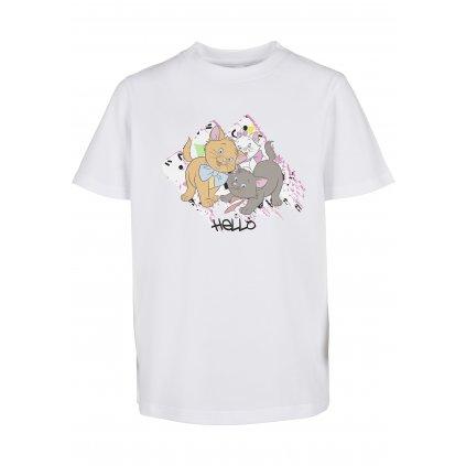 Detské tričko MR.TEE Kids Aristocats Hello Tee