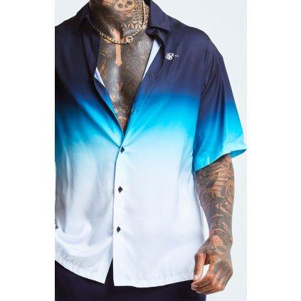 Pánska košeľa SikSilk High Fade Resort