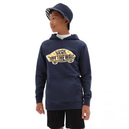vans boy otw pullover flee dress blues 101111