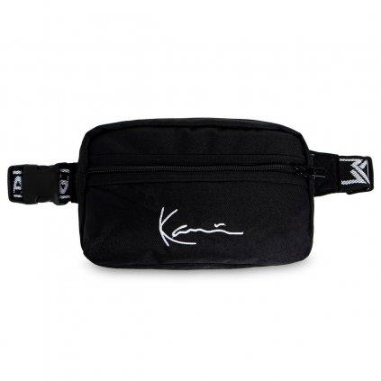 eng pl Karl Kani Signature Tape Hip Bag black 40850 1