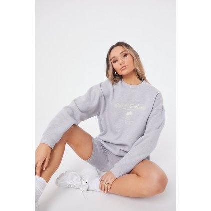 Dámska mikina The Couture Club Catch Flights Oversized