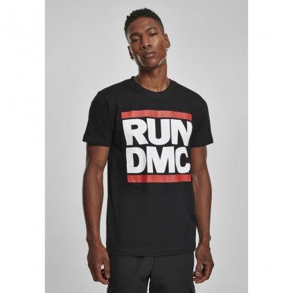 Pánske čierne tričko MR.TEE Run DMC