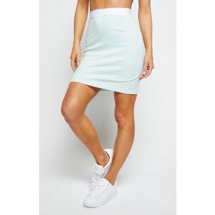Dámska sukňa SikSilk Rib Tube Mint