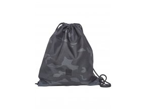 Vrecko Urban Classics Gym Bag dark camo