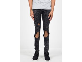 Jeans Sixth June Jean Destroyed Washed Grey