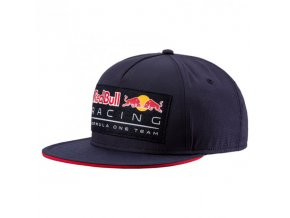 puma red bull racing cap lifestyle flatbrim 54455