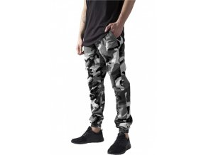 urban classics camo ripstop jogging pants snowcamo 28691