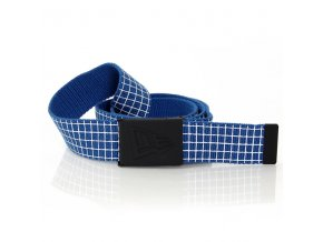 New Era Check Belt Azure Blue - UNI