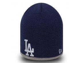 New Era MLB Team Skull knit LA Dodgers Navy - UNI