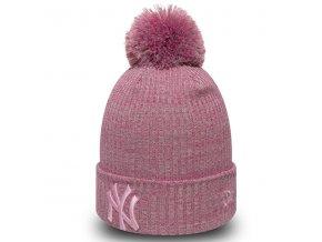 New Era Womens Eng Fit Knit NY Yankees Pink - UNI