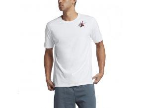 air jordan box t shirt white gym red 49105
