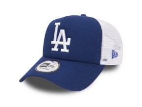 new era 9forty trucker clean a frame la dodgers blue white 49424