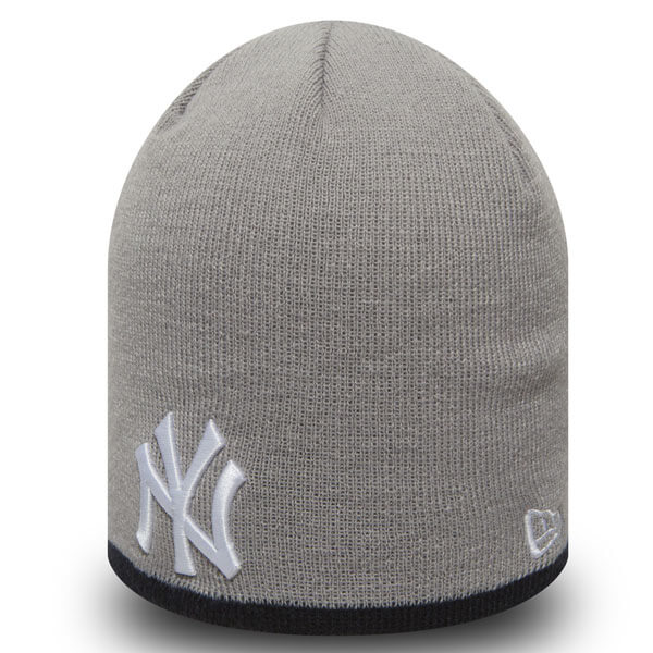 Zimná čiapka New Era MLB Team Skull knit NY Yankees Grey - UNI