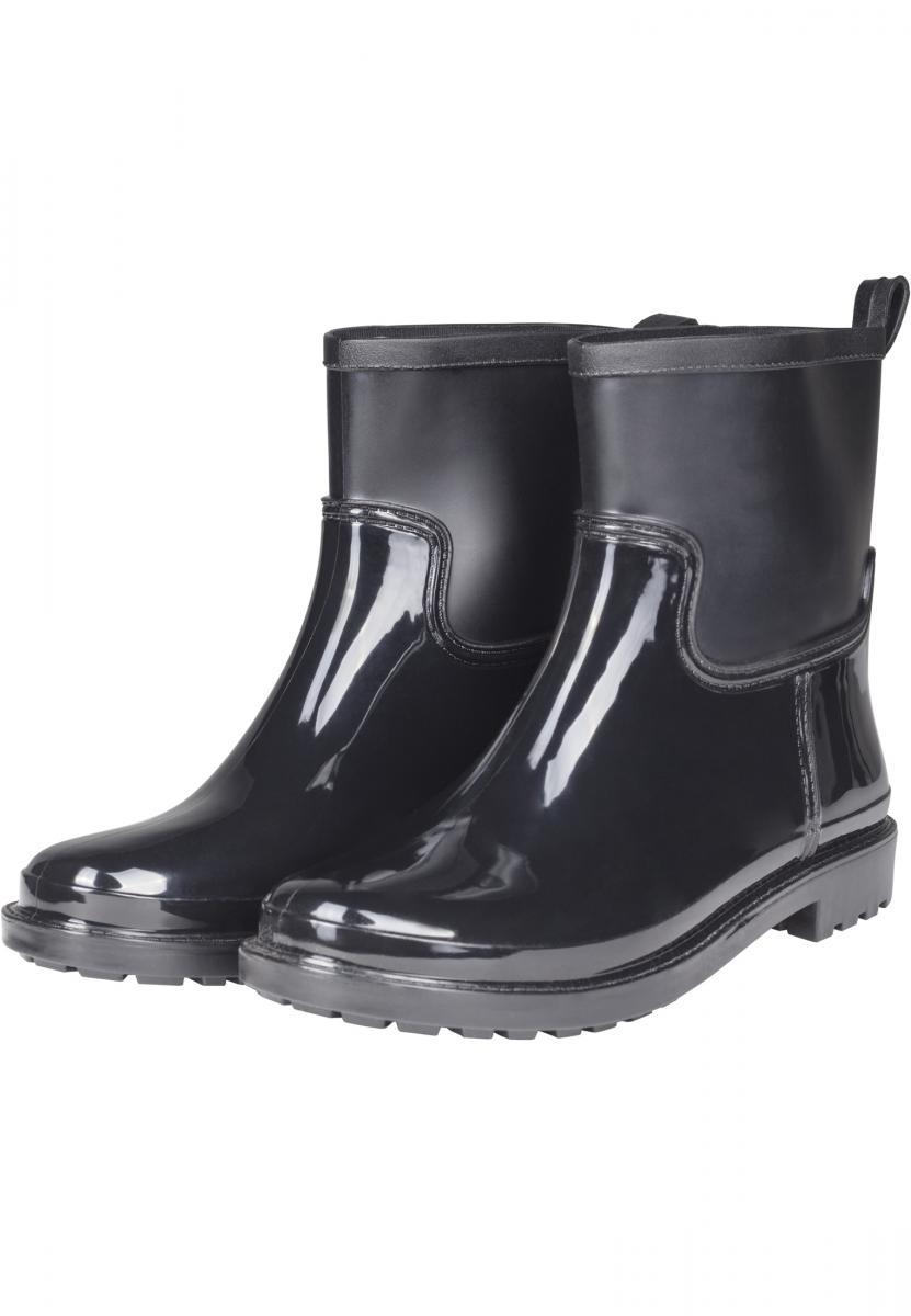 Dámske gumáky Urban Classics Rain čierne Veľkosť: 38