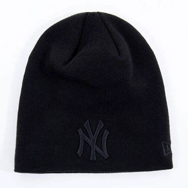 Čiapka NEW ERA MLB Dark Base Skull Knit NY Yankees