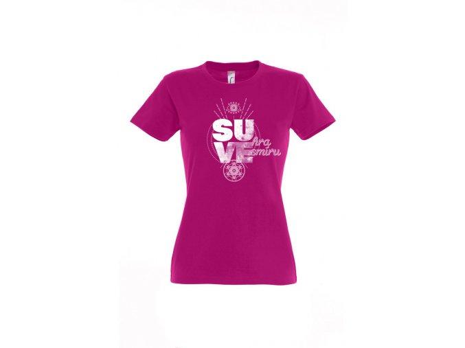 Tričko SU-hra VE-smíru dámske