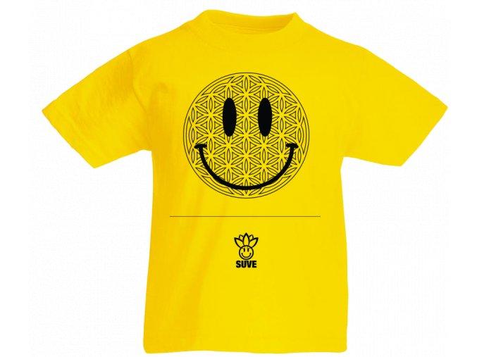 Tričko Detské Šťastlivec